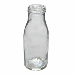 Пустая бутылка для молока